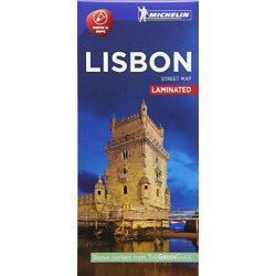 Lisszabon térkép Michelin laminált  Lisboa térkép