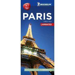 Párizs térkép Michelin laminált belváros