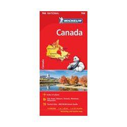 766. Kanada térkép Michelin  1:4 000 000