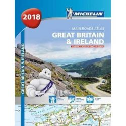 Great Britain atlasz Michelin 2018 1:300 000