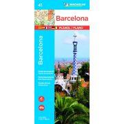 41. Barcelona térkép Michelin  1:12 000