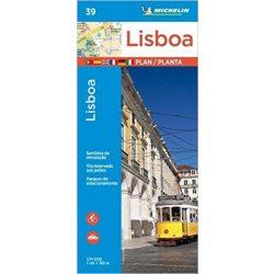 39. Lisszabon térkép Michelin 1:11 000  Lisboa térkép