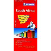 748. Dél-Afrika térkép, Lesotho térkép, Swaziland térkép Michelin 1:1 400 000