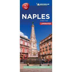 Nápoly térkép Michelin vízálló Nápoly belváros térkép