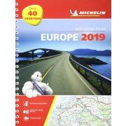 Európa atlasz Michelin 2019 1:1 000 000 Európa térkép