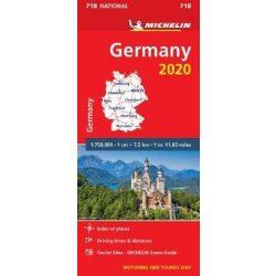 718. Németország térkép Michelin 1:750 000