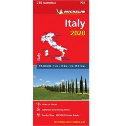 735. Olaszország térkép Michelin  1:1 000 000 Olaszország autótérkép