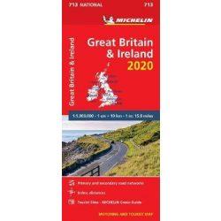 713. Nagy-Britannia térkép Michelin 1:1 000 000