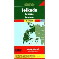 Lefkada térkép Freytag & Berndt 1:50 000