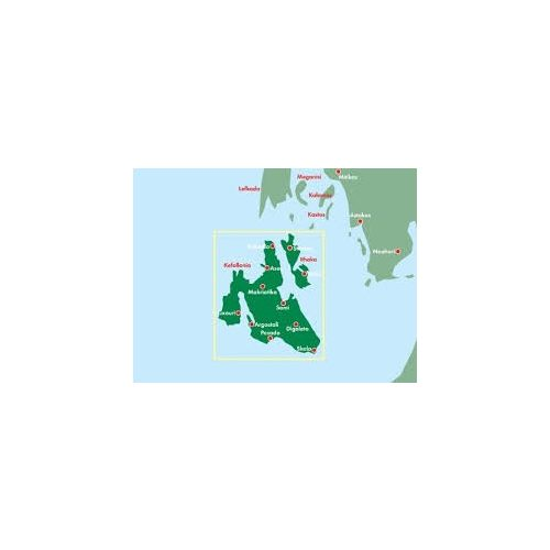 Kefalonia, 1:50 000  Freytag térkép AK 0823