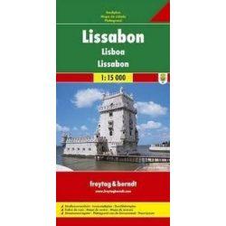 Lisszabon térkép Freytag 1:15 000