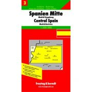 Spanyolország Centrum térkép 3. Freytag & Berndt 1:500 000