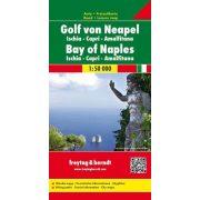 Nápolyi öböl térkép- Ischia - Capri - Amalfi tzérkép, 1:50 000  Freytag térkép AK 0606
