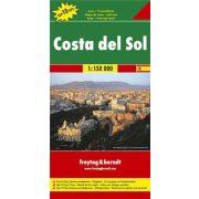 Costa del Sol, Top 10 tipp, 1:150 000  Freytag térkép AK 0516