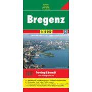 Bregenz, 1:10 000 Freytag térkép PL 04