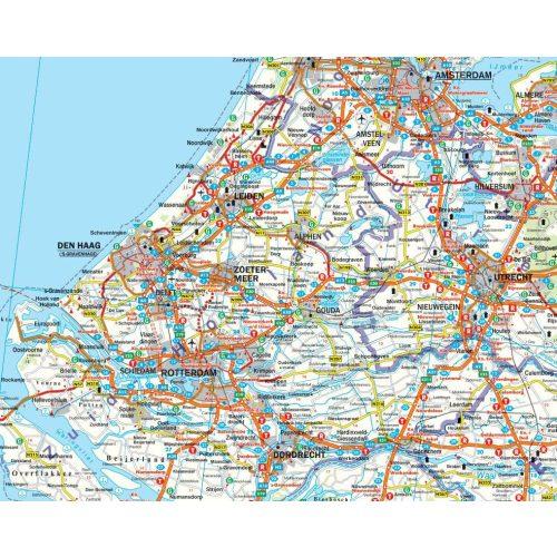 Hollandia, 1:300 000  Freytag térkép AK 8001