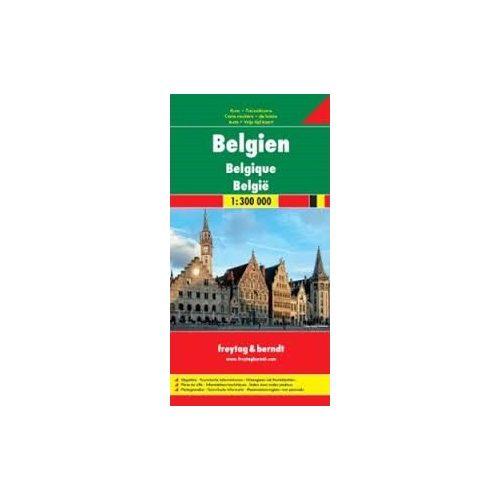 Belgium térkép 1:300 000 Freytag  AK 8002