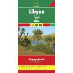 Libya térkép Freytag  1:1 500 000