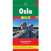 Oslo térkép Freytag & Berndt 1:20 000