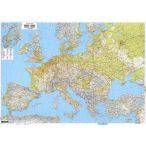 Európa közlekedési falitérkép 1:2 600 000, (169,5 x 121cm)  Freytag térkép