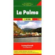 La Palma térkép Freytag 1:40 000  Freytag térkép AK 0518