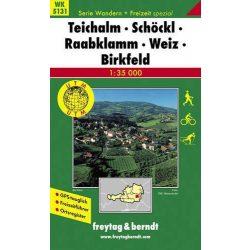 WK 5131 Teichalm, Schöckl, Raabklamm, Weiz, Birkfeld turistatérkép 1:35 000
