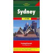 Sydney térkép Freytag & Berndt 1:10 000