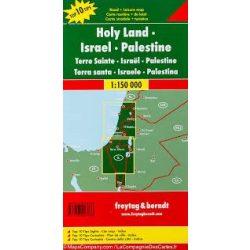 Izrael térkép - Palesztína - Sinai-félsziget, Top 10 tipp, 1:150 000  Freytag Izrael autós térkép AK 134