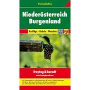 Alsó-Ausztria - Burgenland szabadidőatlasz 1:50 000-1:200 000 Freytag térkép FA NOEB