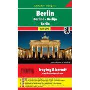 Berlin, 1:10 000 City Pocket vízhatlan Freytag térkép PL 48 CP