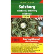 Salzburg várostérkép, 1:10 000 City Pocket vízhatlan  Freytag PL 18 CP