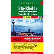 Stockholm, 1:10 000 City Pocket vízhatlan  Freytag térkép PL 92 CP