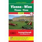 Bécs térkép, 1:15 000 City Pocket vízhatlan Freytag térkép PL 2 CP