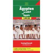 Egyiptom térkép  1:800 000  Freytag térkép AK 146