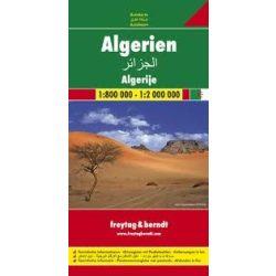 Algéria térkép 1:800 000-1:2 000 000 Freytag
