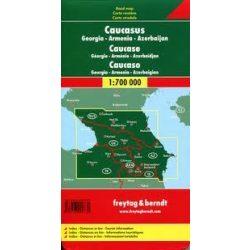 Kaukázus - Grúzia - Örményország - Azerbajdzsán, 1: 700 000  Freytag térkép AK 154
