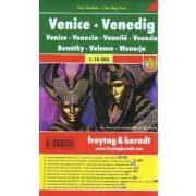 Velence, 1:10 000 City Pocket vízhatlan  Freytag térkép PL 25 CP