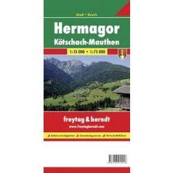 Hermagor térkép Freytag & Berndt 1:15 000