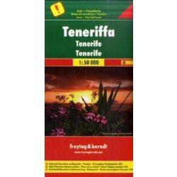 Tenerife térkép Freytag 1:50 000   AK 0523
