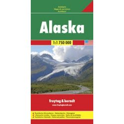 Alaszka térkép, 1:1 750 000 Freytag térkép AK 168  2017