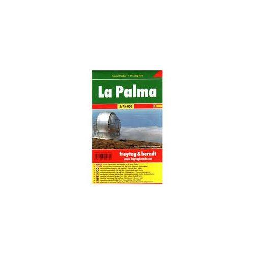 La Palma térkép Freytag 1:130 000  Freytag térkép AK 0518 IP