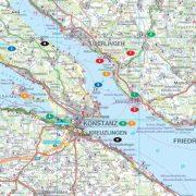 Bóden-tó, 1: 115 000 Freytag térkép LSP 1