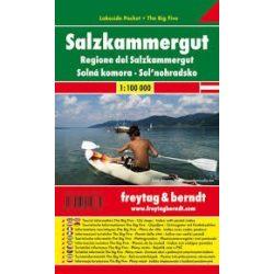 Salzkammerguti tavak, 1:100 000  Freytag térkép LSP 4