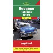 Havanna térkép Freytag & Berndt 1:9 000