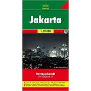 Jakarta térkép Freytag 1:20 000