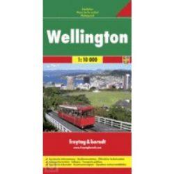 Wellington térkép Freytag & Berndt 1:10 000