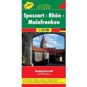 Spessart-Rhön-Mainfranken, Top 10, 1:150 000  Freytag térkép DEU 10