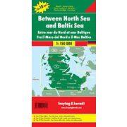 Északi- és Keleti-tenger között  térkép, Top 10, 1:150 000  Freytag térkép DEU 12