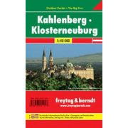 Kahlenberg, Klosterneuburg térkép Pocket, vízhatlan Freytag térkép WK 011 OUP