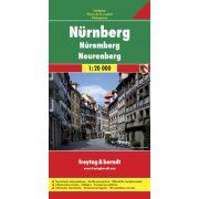 Nürnberg térkép Freytag 1:20 000